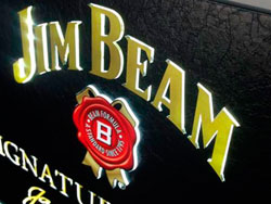 Luminoso Jim Beam - INNOVACIONPLV -